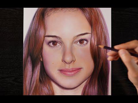 【Drawing illustration】Natalie Portman