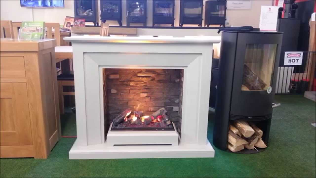 katell Napoli Optimyst Highly Realistic Electric Fire, Flame, Fireplace  Bromsgrove - Katell Napoli Optimyst Highly Realistic Electric Fire, Flame