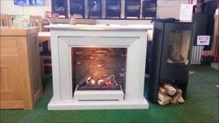 katell Napoli Optimyst Highly Realistic Electric Fire, Flame, Fireplace Bromsgrove