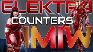 Elektra Counters Ironman Infinity War (IMIW) | Marvel Contest of Champions