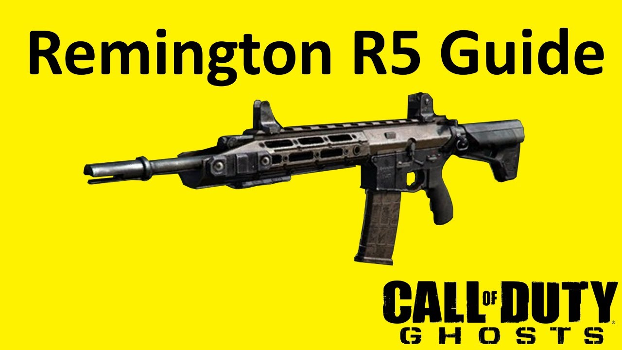 Remington R5 Assault Rifle Weapon Guide Call of Duty ...  Remington R5 As...