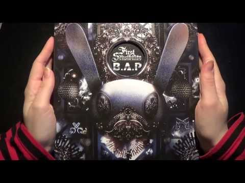 Unboxing B.A.P 비에이피 1st Korean Studio Album First Sensibility