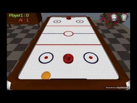 air hockey 3d real hack