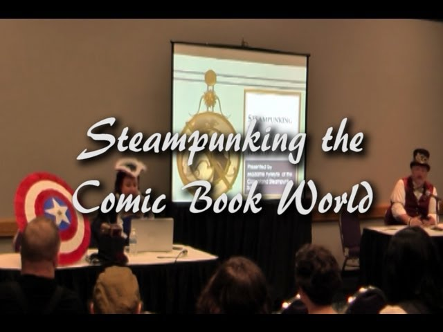 Steampunking the Comic Book World