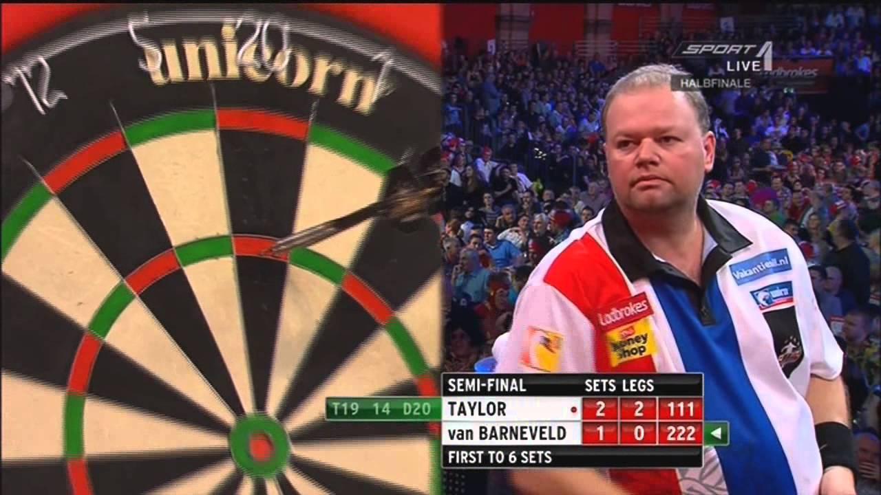 Download Phil Taylor vs Raymond van Barneveld PDC World Darts Championschip 2013 Semi Final War Highlights HD