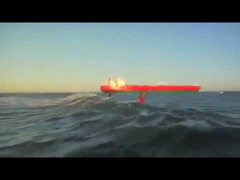 Oil Tanker Surfing