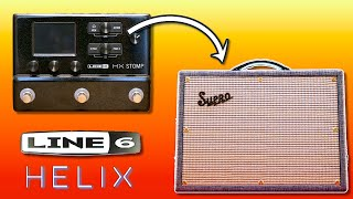 The Supro Amp Model is Underrated // Line 6 Helix & HX Stomp