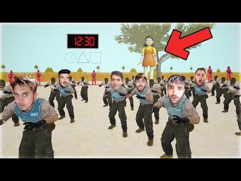 CS:GO'DA SQUID GAME - HARİTAYI YAPTIK VE OYNADIK !!!