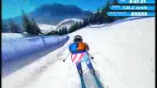 Winter Sports 2: The Next Challenge (Xbox 360) Downhill Skiing Gameplay