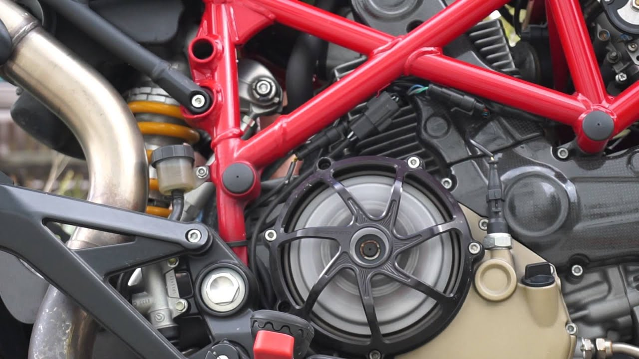Ducati Hypermotard Engine
