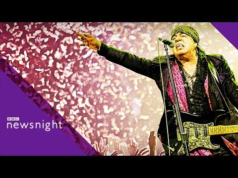 Stevie Van Zandt on Brexit, The Sopranos and playing with 'The Boss' - BBC Newsnight