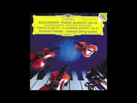 Emerson Quartet plays Schumann Piano Quintet, Op. 44