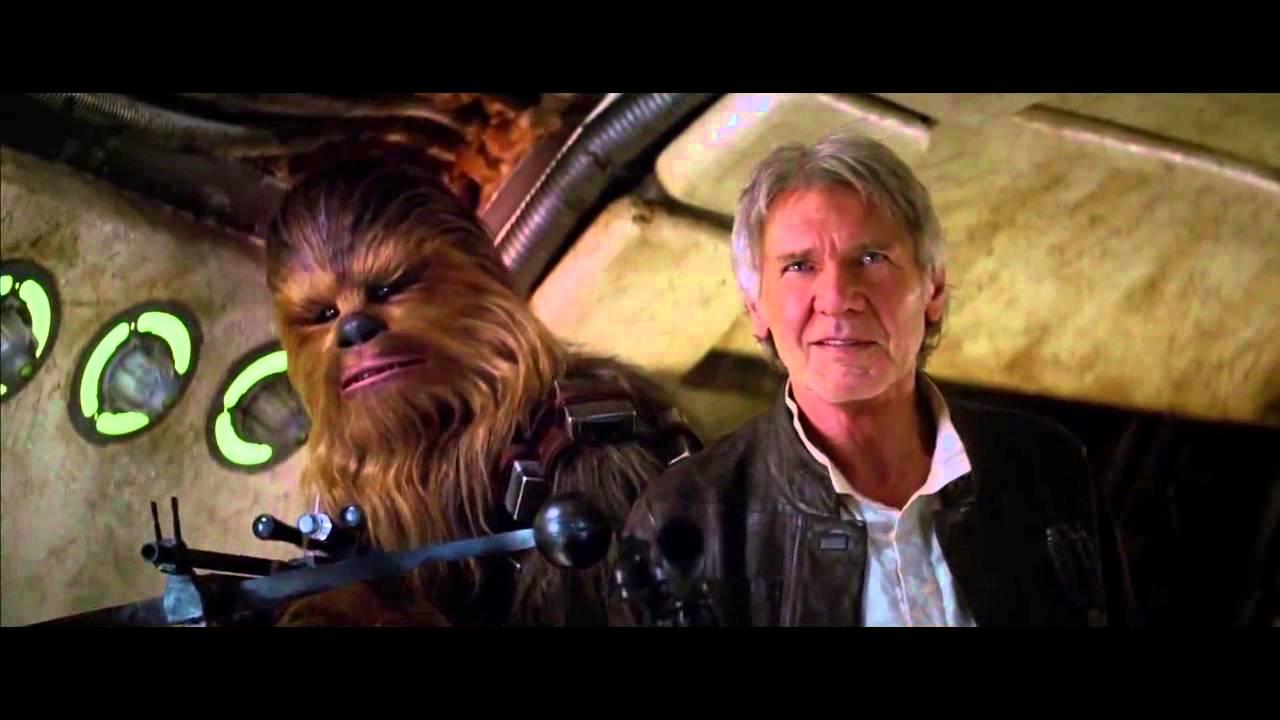 Resultado de imagem para force awakens han solo and chewbacca