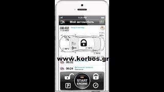 Pandora Mini-Mercedes A-B class Συναγερμός Αυτοκινήτου με Εφαρμοφή στο κινητό www.korbos.gr