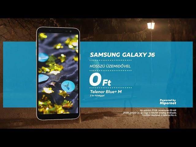 Samsung Galaxy J6 a Telenortól