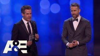 """Deadpool"" Wins Best Comedy | 22nd Annual Critics' Choice Awards | A&E"