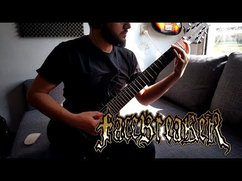 Facebreaker - Carving For Brains (Guitar Cover)