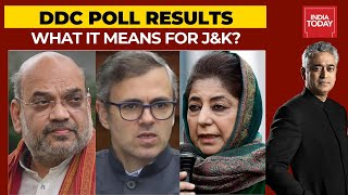 DDC Poll Results: Is Jammu Vs Kashmir Divide Now Bigger? | News Today With Rajdeep Sardesai