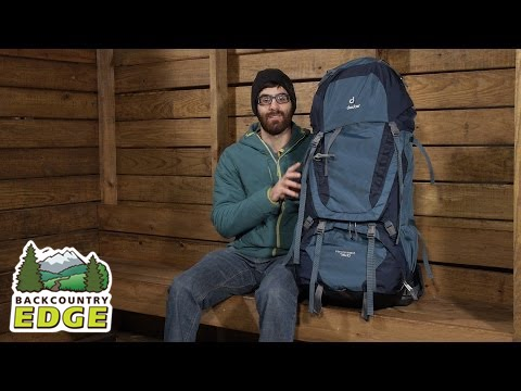 51854a6f8274f Deuter Aircontact 75+10 Backpack - YouTube