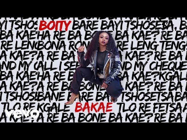 Boity - Bakae (Audio)