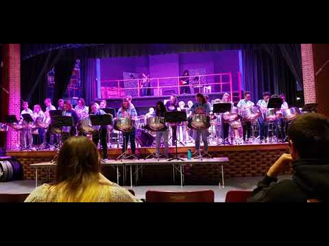 Old Mill High School Steel Drum Band Concert 2/22/2019