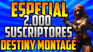 Destiny Sniper Montage Mi primer Año Especial 2K Suscriptores