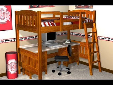 loft bed plans how to build a loft bed with plans. Black Bedroom Furniture Sets. Home Design Ideas