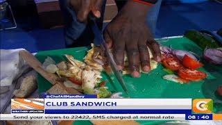 Power Breakfast: Making Club Sandwich