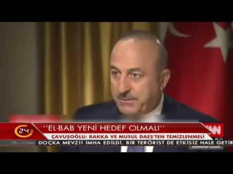 Bakan Çavuşoğlu CNN International'a konuştu