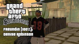 GTA San Andreas - SA DirectX 2.0 Modded Girlfriend | CJ ♥ Honoka ( Denise Robinson )
