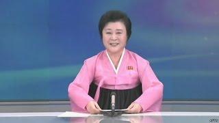 КНДР: диктор оптимистично сообщила об успешном испытании бомбы(, 2016-01-06T14:28:05.000Z)