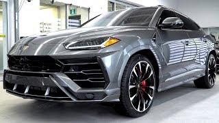 Delivery of a 2019 Lamborghini URUS in Grigio Lynx!!!