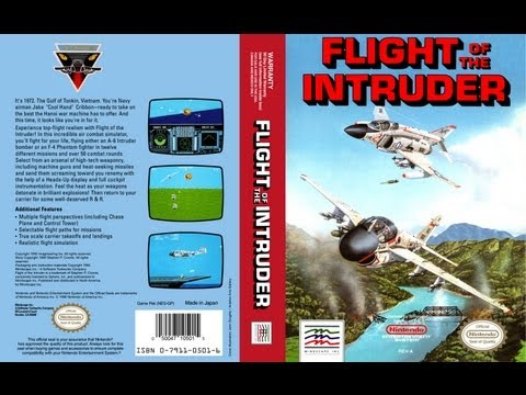 Flight of the Intruder NES Gameplay Longplay (Полное прохождение)