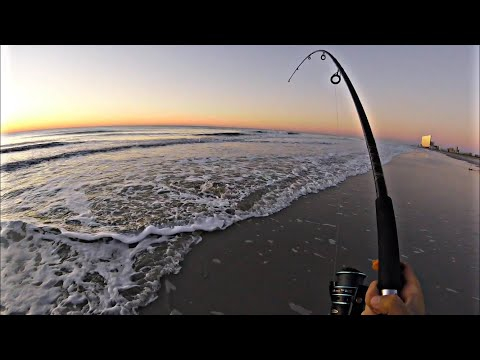 Surf Casting For Fall Striped Bass // October 2020 NJ Surf Fishing