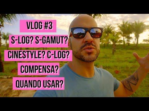Vlog 3 - S-log? S-gamut? Cinestyle? Quando e como usar? Final Cut