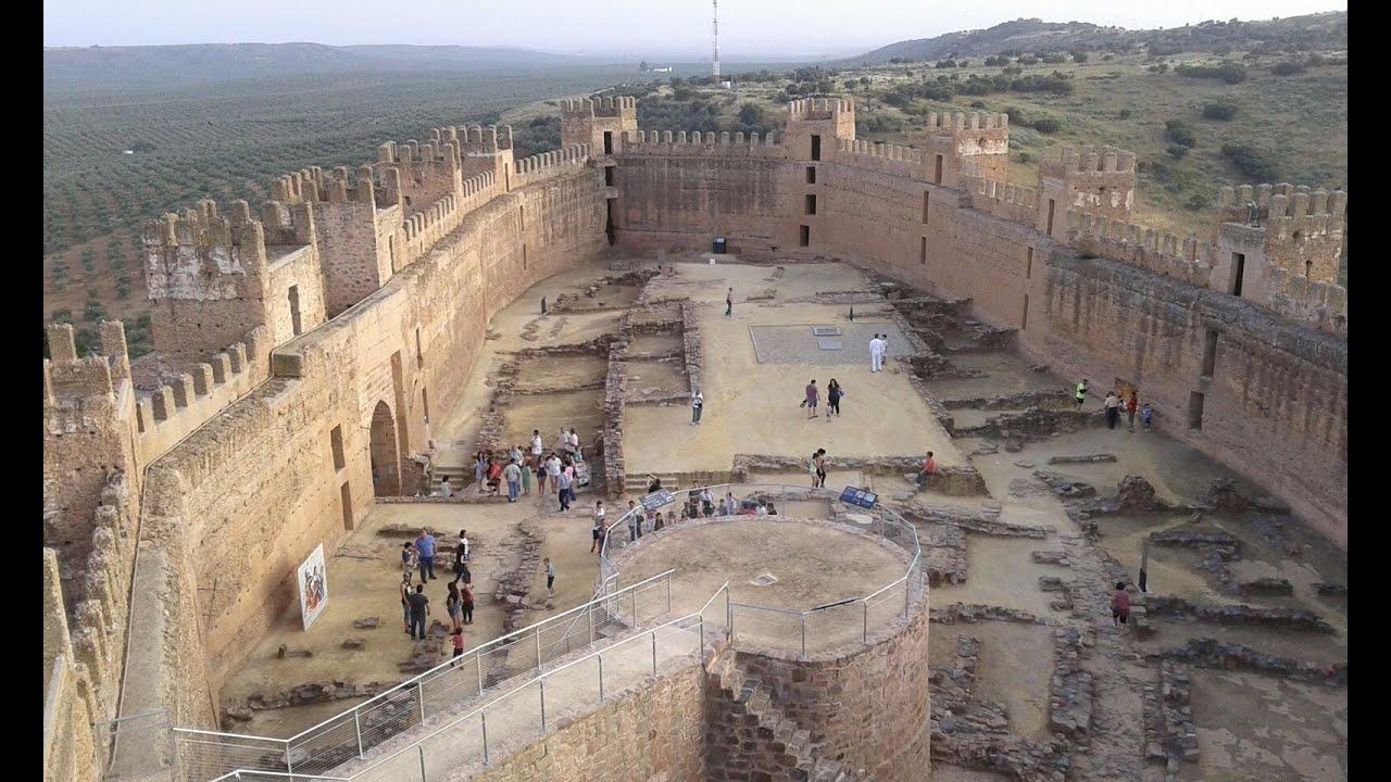 Ba os de la encina castillo de burgalimar arab castle ja n spain youtube - Castillo de banos de la encina ...