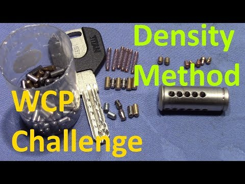 Взлом отмычками Mul-T-Lock   (picking 441) WCP Mul-T lock challenge - EGRET and TITAN picking + most accurate pins estimation (Here is my last attempt to determine the n