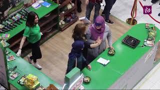 عرض الطبخ في مدينة اربد بتنظيم من كنور وعن برنامج ست النكهات - ديما حجاوي