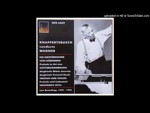 Wagner - Siegfried Idyll (H.Knappertsbusch / WDR, live 1953)
