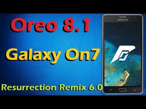 Installing Resurrection Remix OS 6 1 in Samsung Galaxy J7 Prime