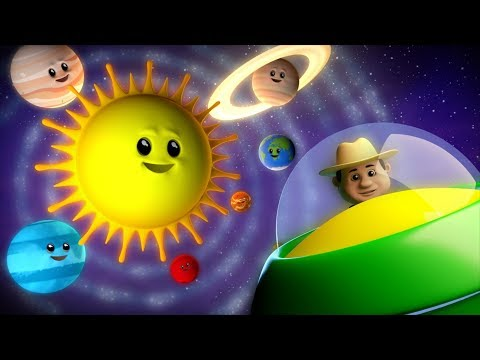 Planets Song   Learning Videos For Children   Nursery Rhymes For Kids   Farmees