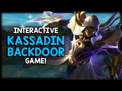 How good are you at dodging abilities? - Interactive Kassadin Backdoor Minigame!