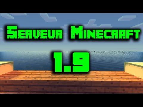 Presentation De Serveur Minecraft PvP Survie 1.13