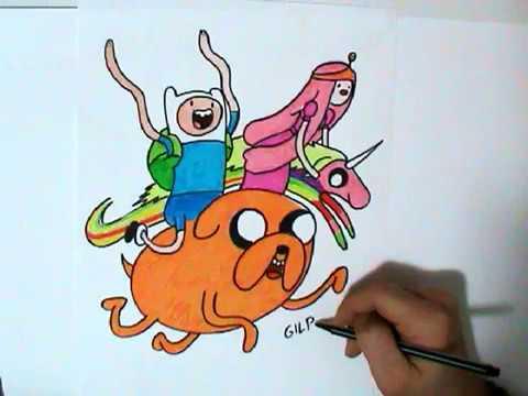 come-disegnare-e-colorare-adventure-time