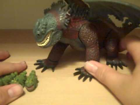 How to train your dragon red death toy review youtube ccuart Gallery