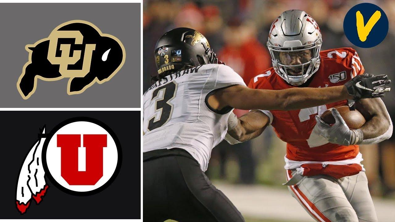 Colorado vs #6 Utah Highlights | Week 14 | College Football 2019