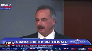 Police FOUND 9 points of forgery in Obama's birth certificate...