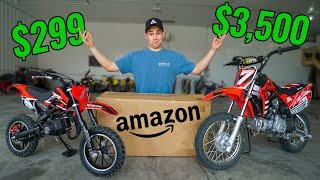 Testing $300 Amazon Dirt Bike!! (It gets Destroyed)