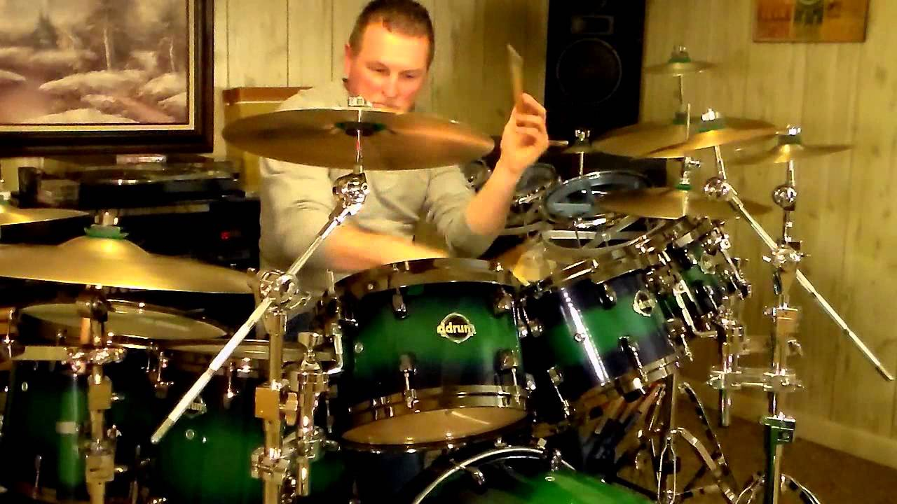 mad dogs drum cover to bad motor scooter by montrose youtube. Black Bedroom Furniture Sets. Home Design Ideas