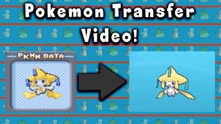 How To Transfer Pokemon To Generation 6!